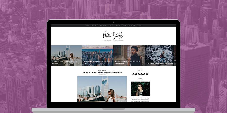 New York eCommerce WordPress Theme