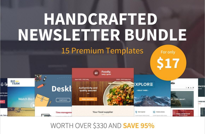 Newsletter Templates Mighty Deal