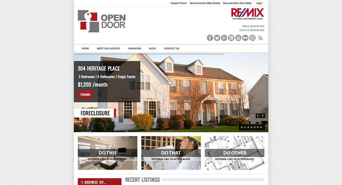 open-door-real-estate-wordpress-theme