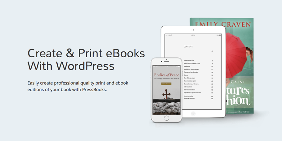 Create and Publish Books with WordPress & PressBooks