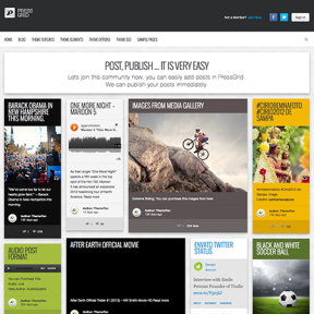 PressGrid Masonry Blog and Magazine WordPress Theme