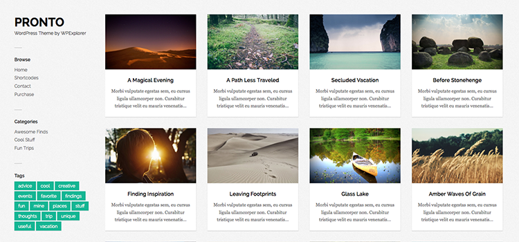 The 10+ Best WordPress Photoblogging Themes - WPExplorer