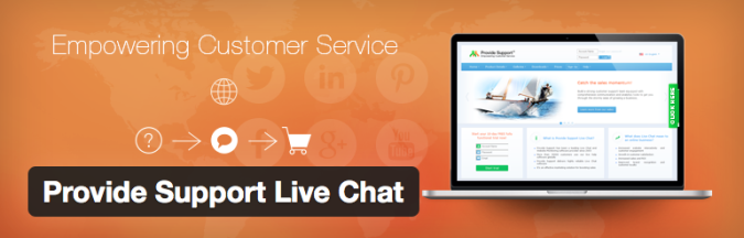 provide support live chat plugin