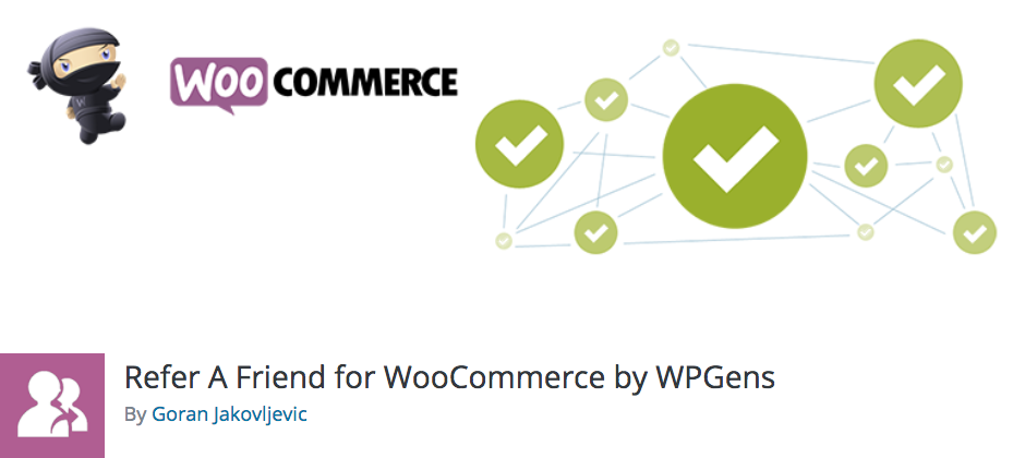Best Affiliate WordPress Plugins: Refer-A-Friend for WooCommerce by WPGens