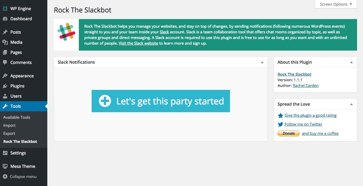 Rock the Slackbot Installation