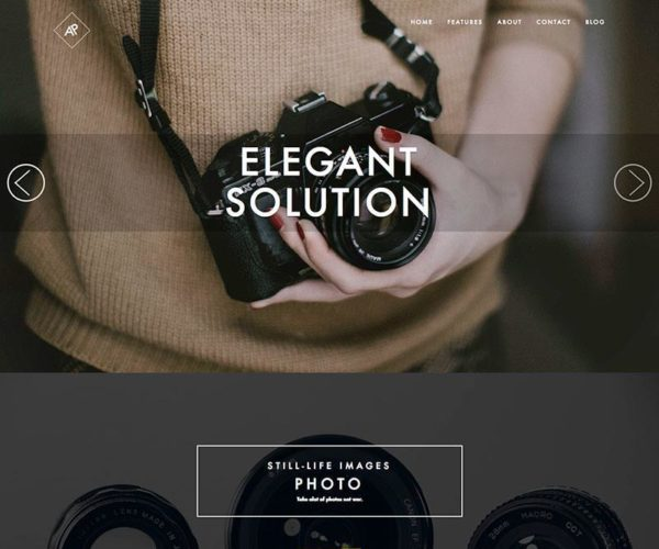 Rokophoto Photography WordPress Theme