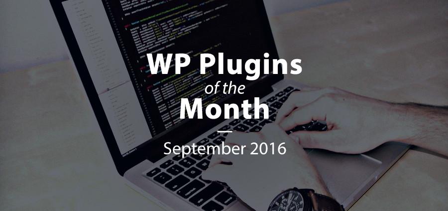 Premium WordPress Plugins of the Month: September 2016
