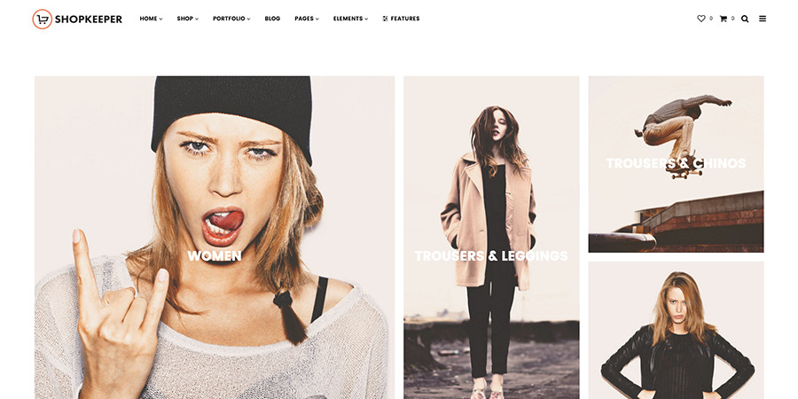 Shopkeeper WordPress Theme