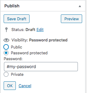 Simple Download Monitor: Password Protected