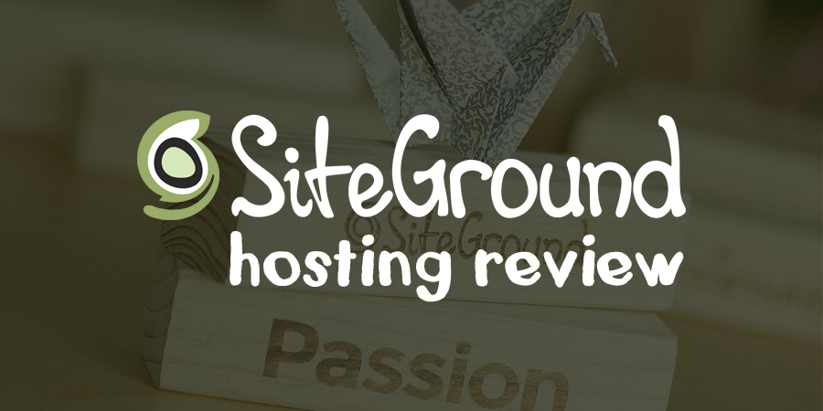 Hosting  Siteground Youtube Review