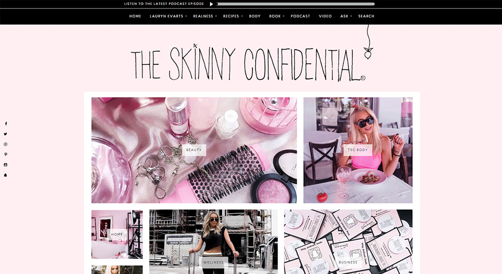 Skinny Confidential Beauty Blog