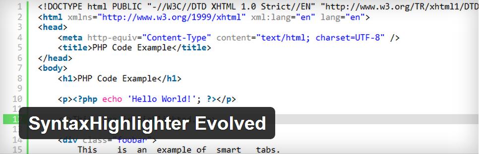 syntaxhighlighter-evolved-wordpress-plugin-wpexplorer