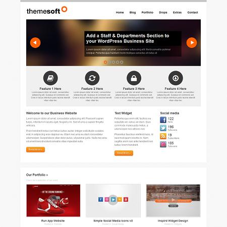 ThemeSoft Premium Responsive Portfolio WordPress Theme