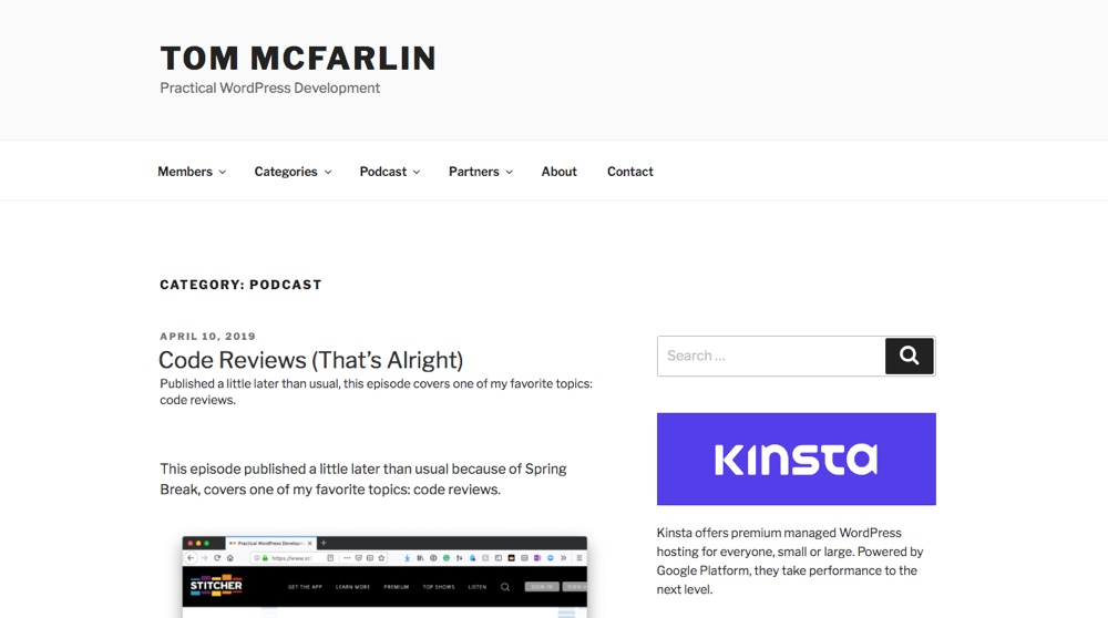 Tom McFarlin Podcast