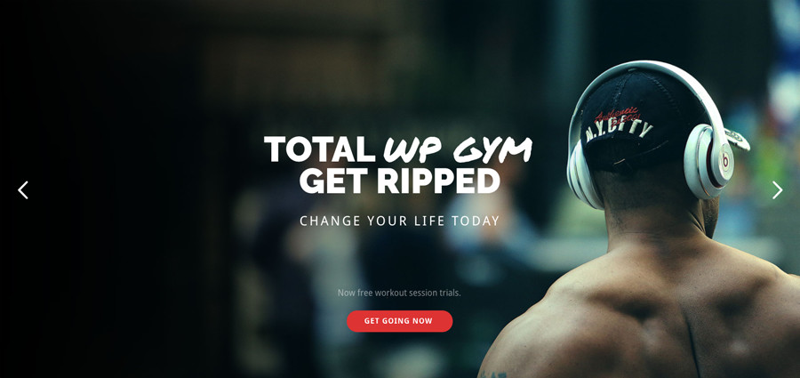 Total Gym WordPress Theme