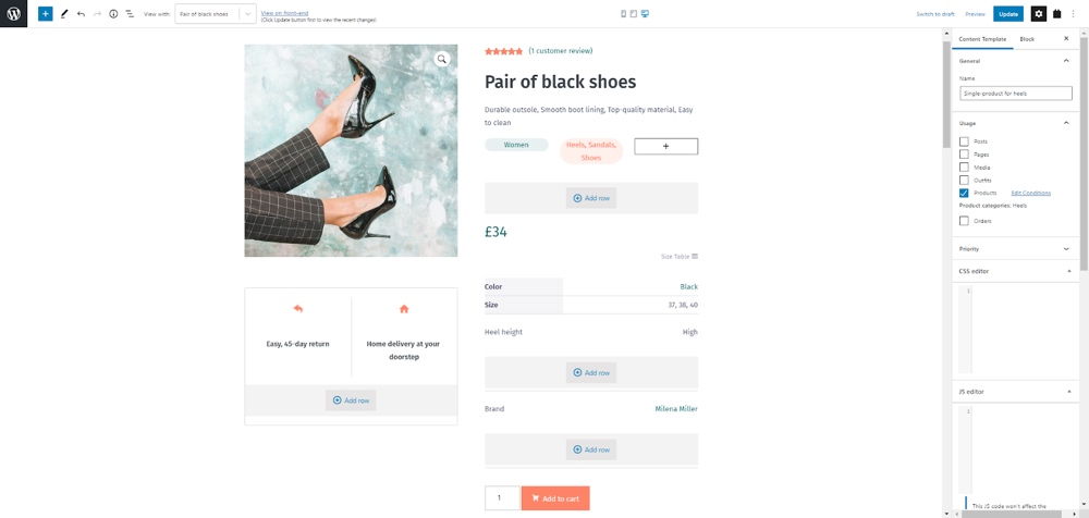 Total & Toolset Product Template