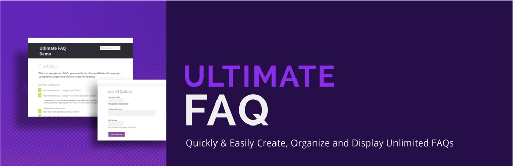 Ultimate FAQ Plugin