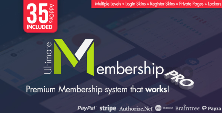 Ultimate Membership Pro Premium WordPress Plugin