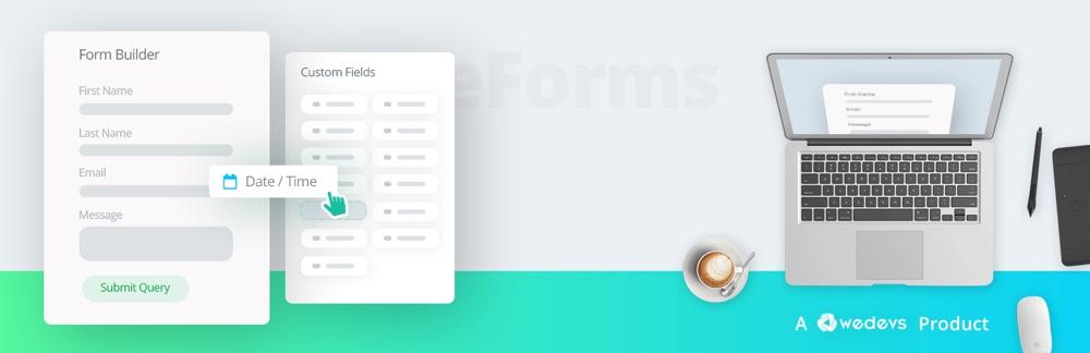 Плагин контактной формы weForms для WordPress