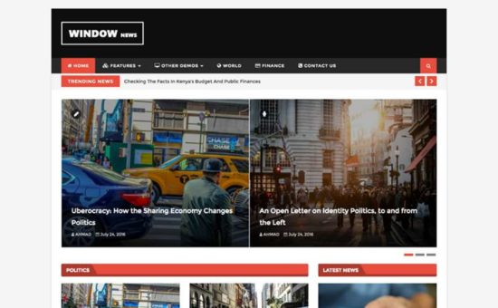 WindowMag WordPress Magazine & Blog Premium Theme
