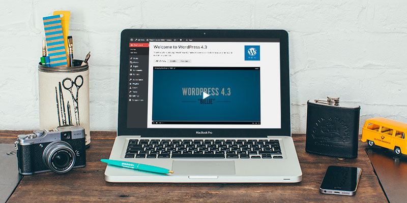 "WordPress 4.3 ""Billie"""