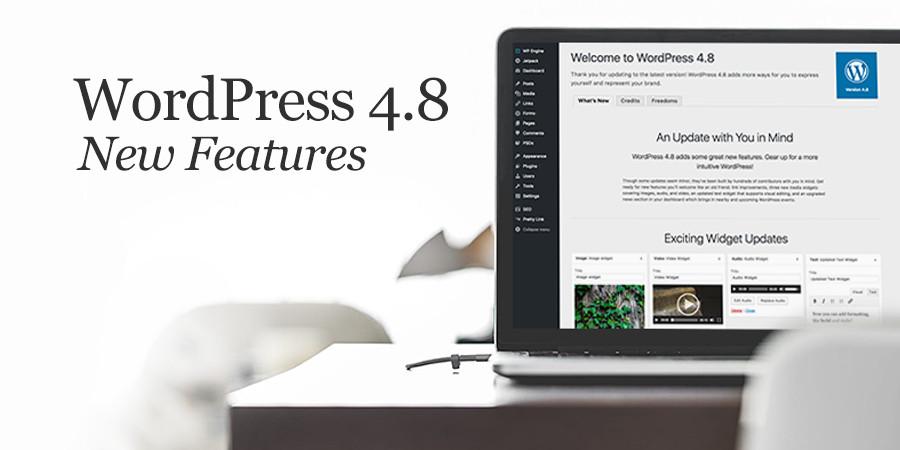 """WordPress 4.8 """"Evans"""" Features"""