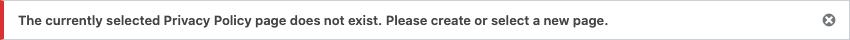 WordPressAdmin Notice: Error