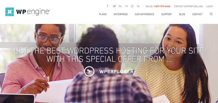 Colors Of The WP Engine WordPress Hosting