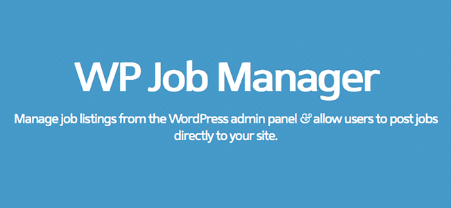 Add a Job Board To Your WordPress Website With WP Job Manager