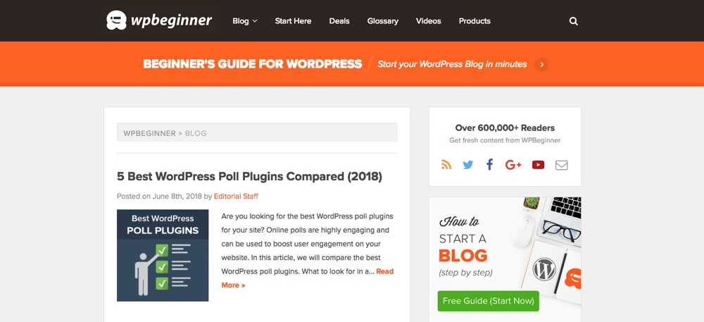 WordPress Blogs You Should Follow - WPBeginner