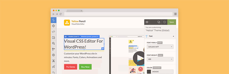 Yellow Pencil CSS Editor Plugin