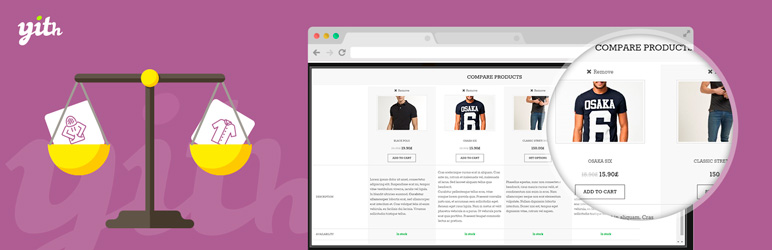 YITH WooCommerce Compare Free WordPress Plugin
