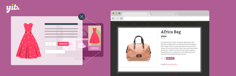 YITH WooCommerce Quick View Free WordPress Plugin
